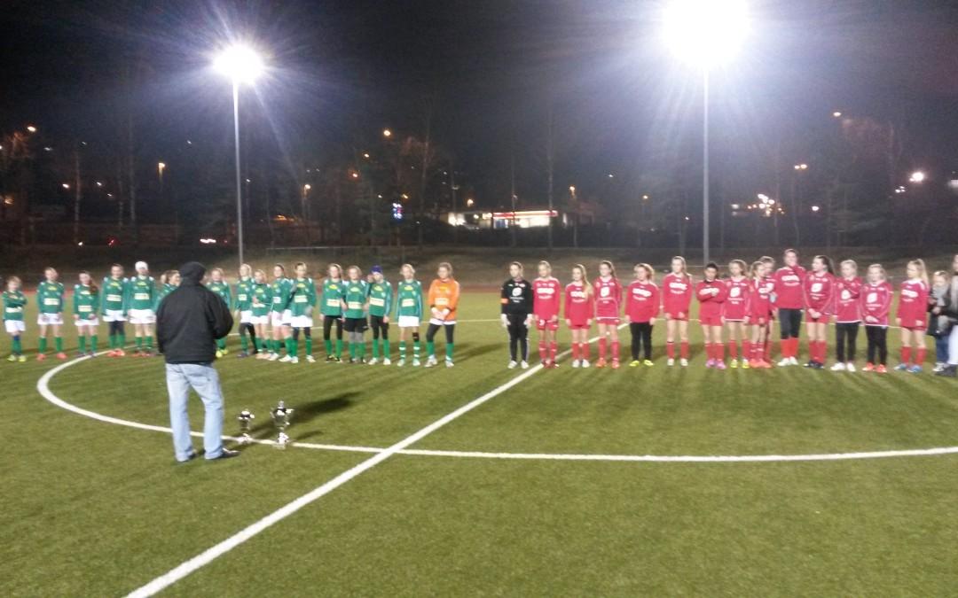 Vinterserien kom til finalen på Løv-Ham stadion