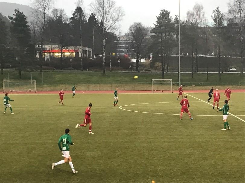 Årets første hjemmekamp for B-laget