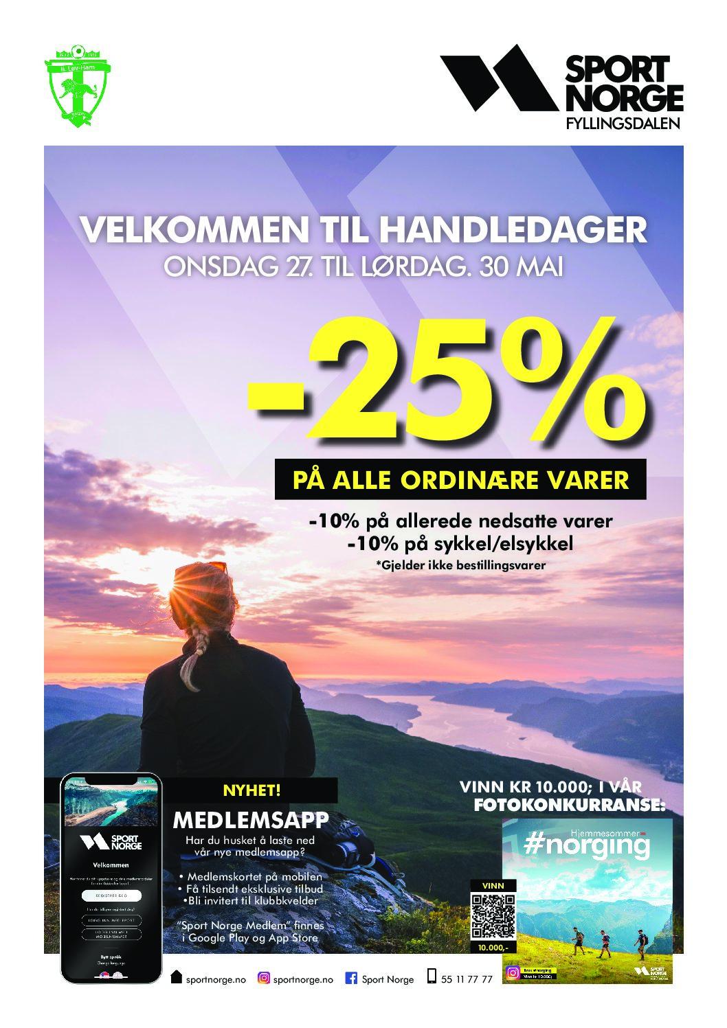 Velkommen til handledager hos Sport Norge